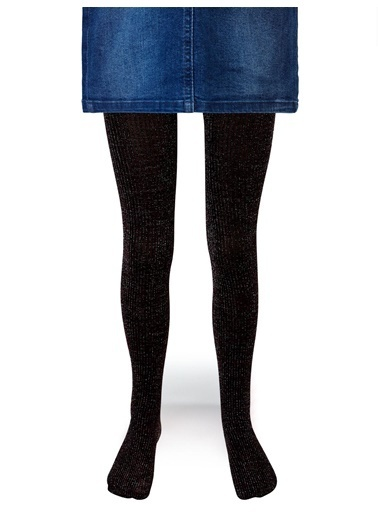Katamino Katamino Simli Mürdüm Çocuk Külotlu Çorap Renkli